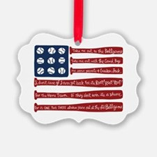 Cute Baseball Ornament