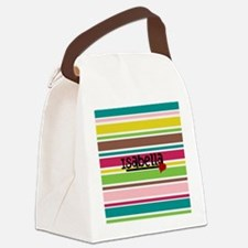 Trendy Modern Stripes - Customized Canvas Lunch Ba