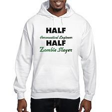 Half Aeronautical Engineer Half Zombie Slayer Hood