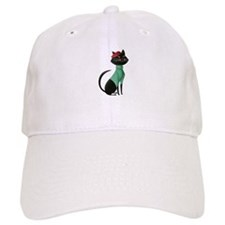 Paris Kitten Baseball Cap