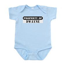 Property of Dwayne Infant Bodysuit
