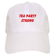 Tea Party Strong Baseball Baseball Cap