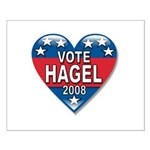Vote Chuck Hagel 2008 Political Small Poster