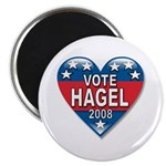 Vote Chuck Hagel 2008 Political Magnet