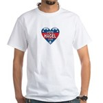 Vote Chuck Hagel 2008 Political White T-Shirt