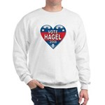 Vote Chuck Hagel 2008 Political Sweatshirt
