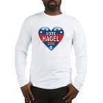 Vote Chuck Hagel 2008 Political Long Sleeve T-Shir