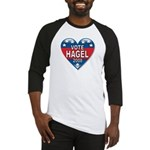 Vote Chuck Hagel 2008 Political Baseball Jersey