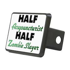 Half Acupuncturist Half Zombie Slayer Hitch Cover