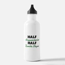 Half Acupuncturist Half Zombie Slayer Water Bottle