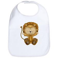 Cute Baby Lion-Cartoon Bib