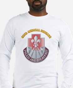 DUI - 62nd Medical Brigade with text Long Sleeve T