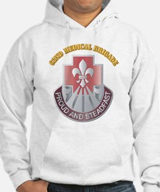 DUI - 62nd Medical Brigade with text Hoodie