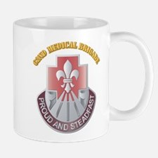 DUI - 62nd Medical Brigade with text Mug