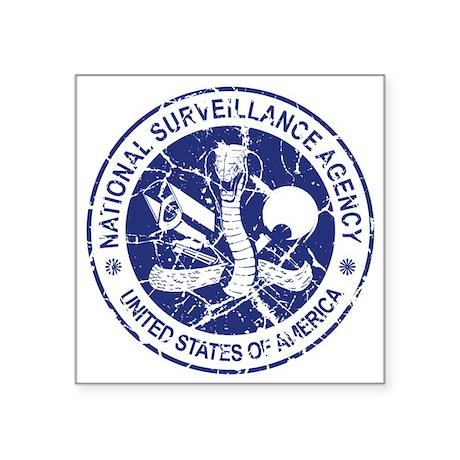 NSA (Blue) Sticker