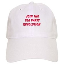 Join The Tea Party Revolution Baseball Baseball Cap