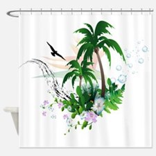 Summer Design Shower Curtain