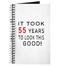 It Took 55 Birthday Designs Journal