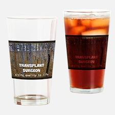 Transplant surgeon BLANKET Drinking Glass