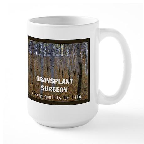 Transplant surgeon BLANKET Mugs