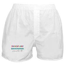 transplant coordinator 2 Boxer Shorts