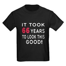 It Took 66 Birthday Designs T