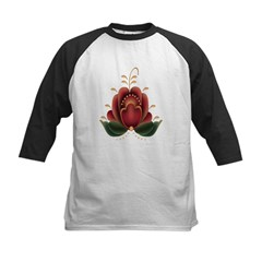 Red Country Flower Tee