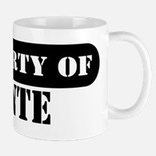 Property of Donte Mug