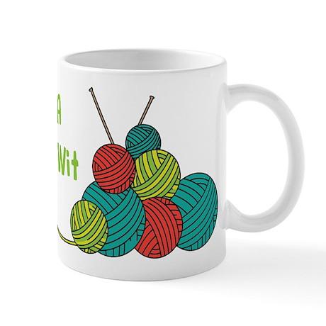 Im a Knit-Wit Mugs