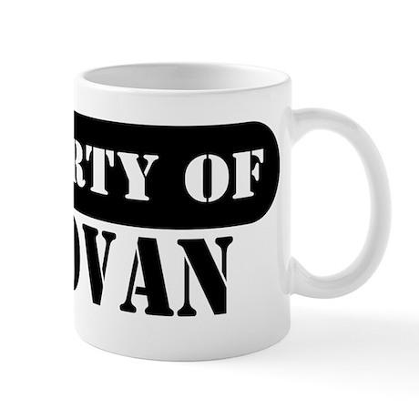 Property of Donovan Mug