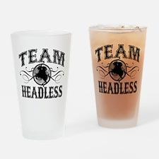 Team Headless Drinking Glass
