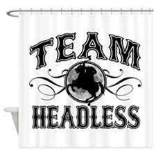 Team Headless Shower Curtain