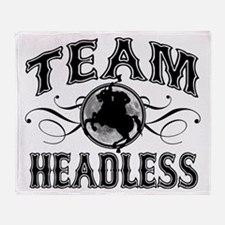Team Headless Throw Blanket