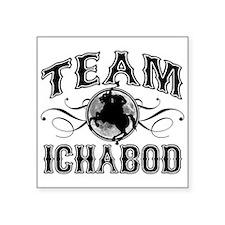 """Team Ichabod Square Sticker 3"""" x 3"""""""