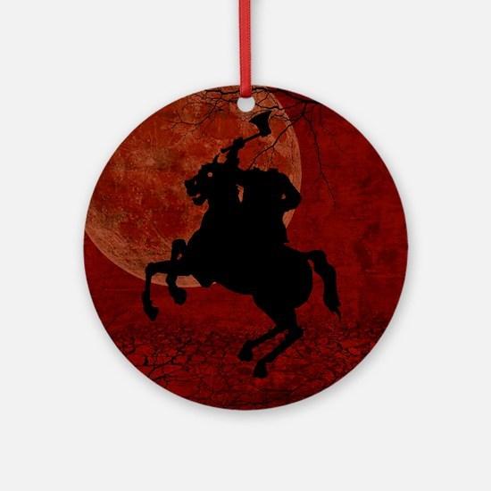 Headless Horseman Ornament (Round)
