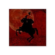 "Headless Horseman Square Sticker 3"" x 3"""