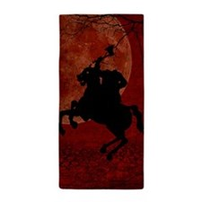 Headless Horseman Beach Towel