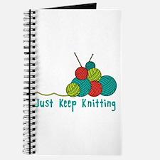 Just Keep Knitting Journal