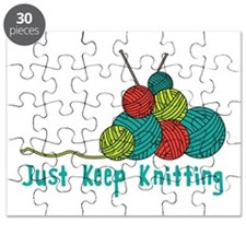 Just Keep Knitting Puzzle