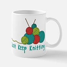 Just Keep Knitting Mugs
