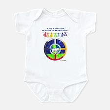 White Buffalo Calf Prophecy  Infant Bodysuit