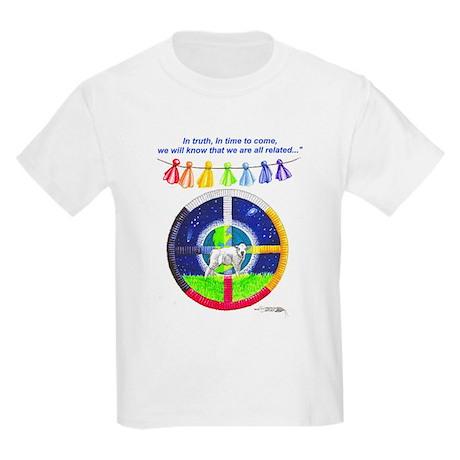 White Buffalo Calf Prophecy Kids T-Shirt