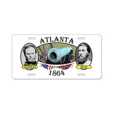 Atlanta Aluminum License Plate