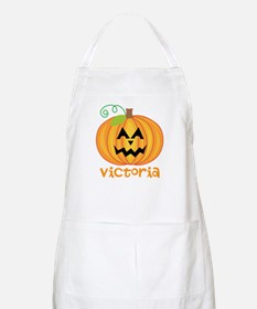 Personalized Halloween Pumpkin Apron