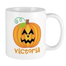 Personalized Halloween Pumpkin Mug