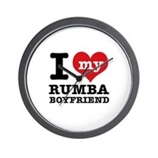 I love my Rumba Boyfriend Wall Clock