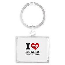 I love my Rumba Boyfriend Landscape Keychain