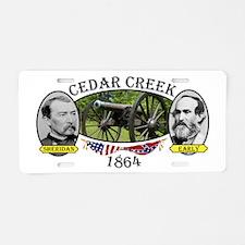 Cedar Creek Aluminum License Plate