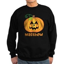 Customized Pumpkin Jack O Lantern Sweatshirt