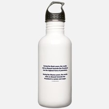 Mainstream Media on Dissent Water Bottle